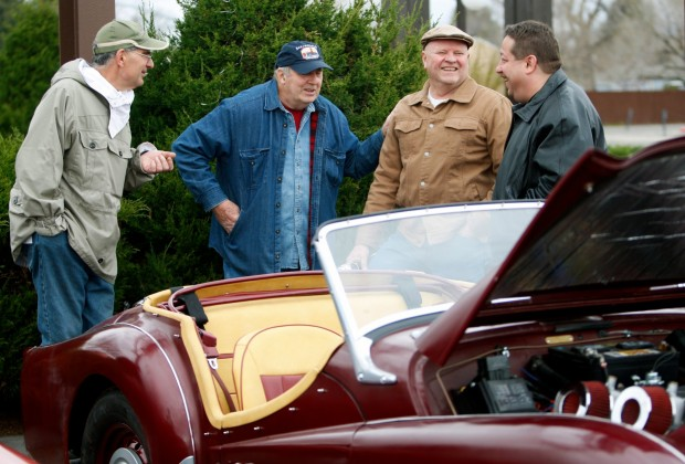 Northern Plains Vintage Foreign Car Club members