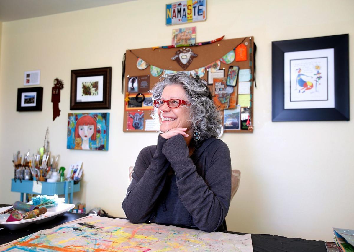 Artist Betina Johnson