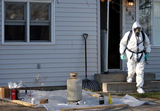 Police, DEA agent raid suspected lab