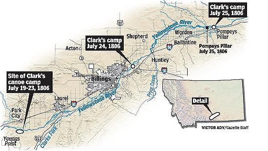Retracing Clark's Journey to Pompeys