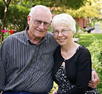 Robert Franklin and Evelyn Conlin Richardson