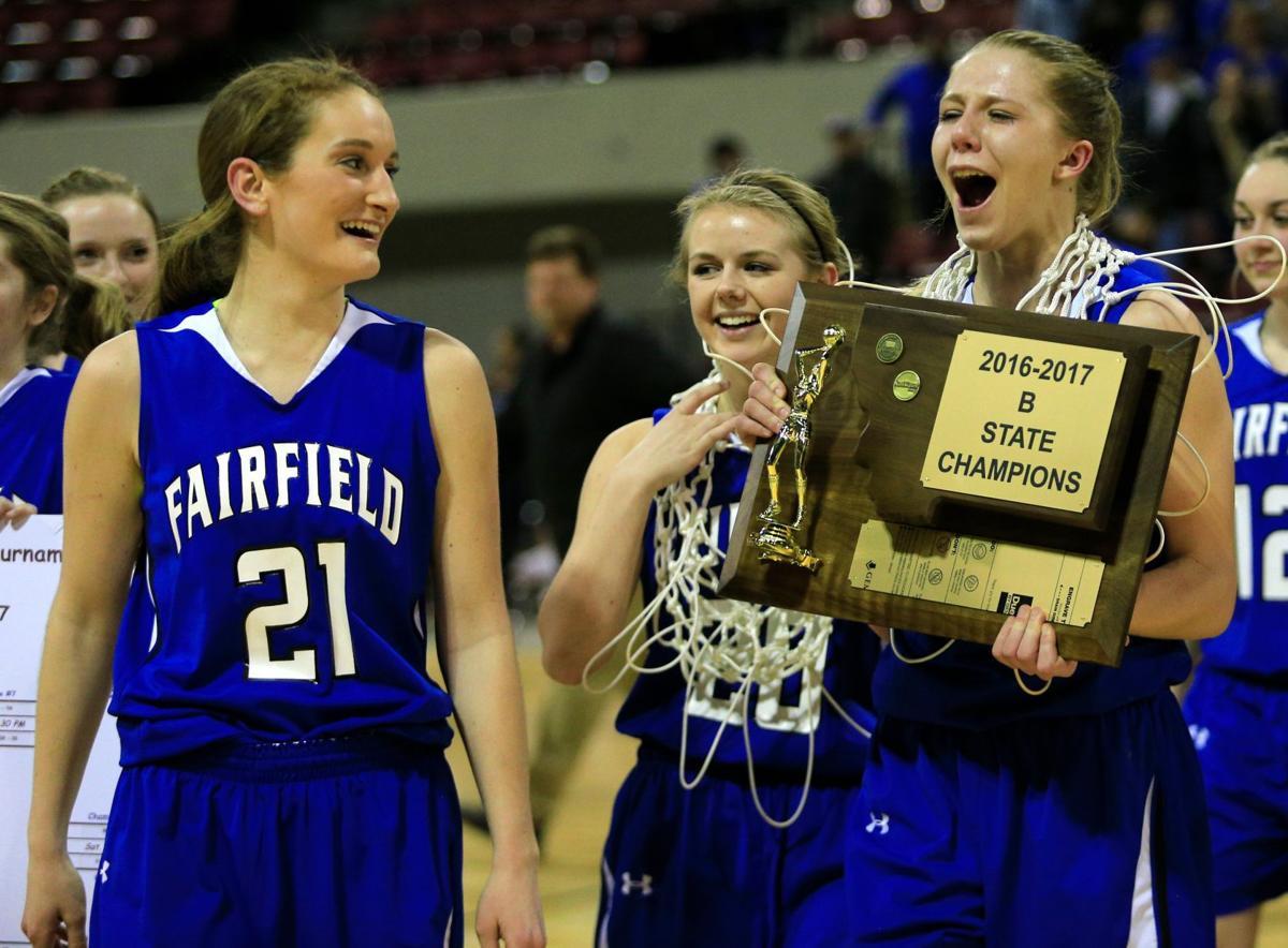 Fairfield's Allix Goldhahn celebrates