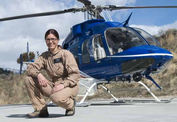 Jackson Hole Helicopter Pilot Living A Dream