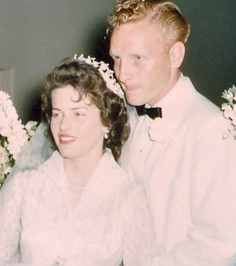 Carol and Art Peterson in 1957
