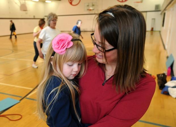 Jennifer Scherer and her daughter Kaylie