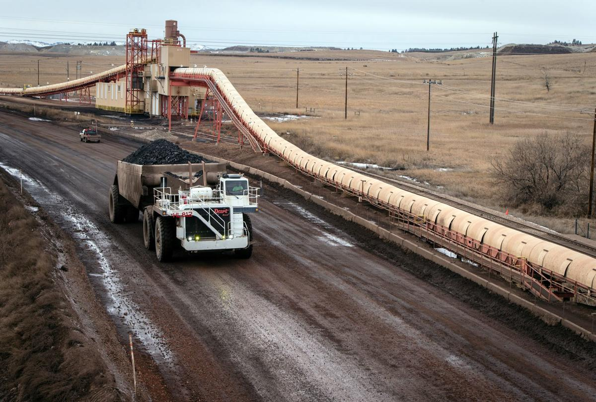 Coal dust in Colstrip