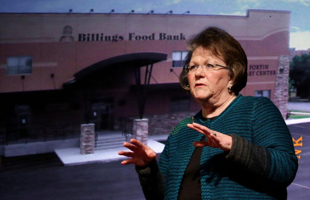 Sheryle Shandy talks about the Billings Food Bank