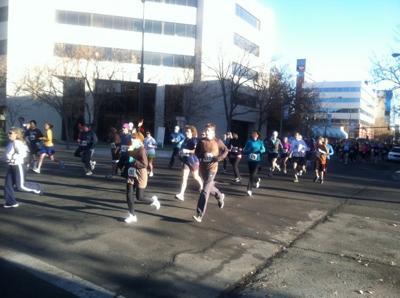 Turkey Run runners