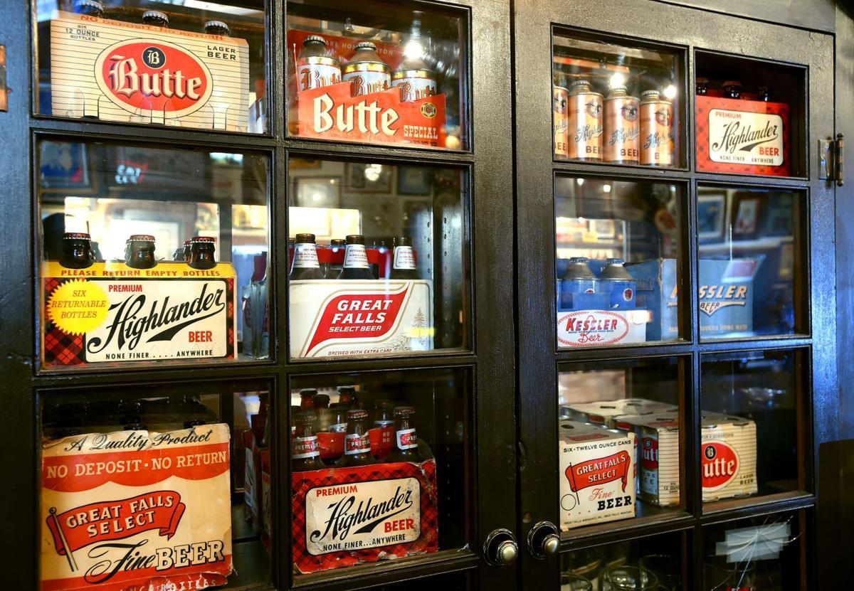 Steve Lozar beer display