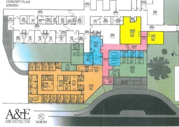 Rosebud health care center plans 2 1 million expansion for Billings plan room