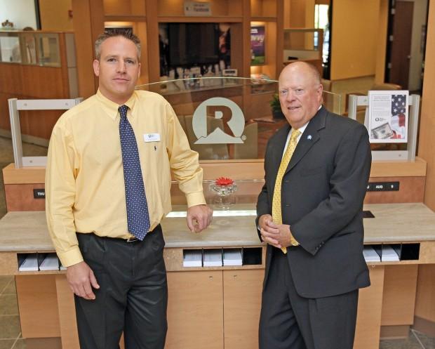 Rocky Mountain Bank's Stephen Casher and Danny Skarada