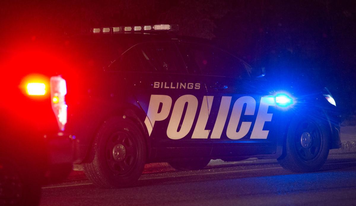 Billings police car