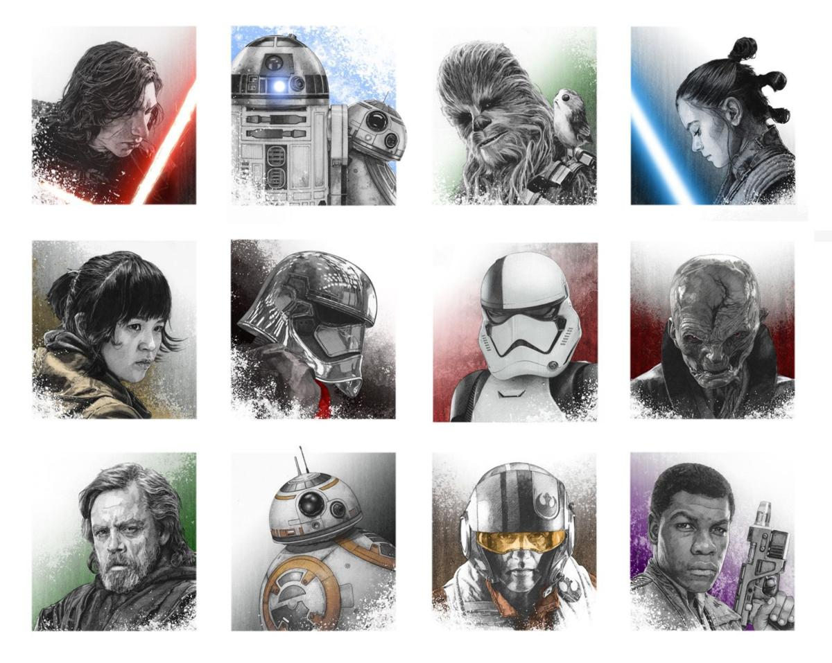 'Force'-ful illustrations