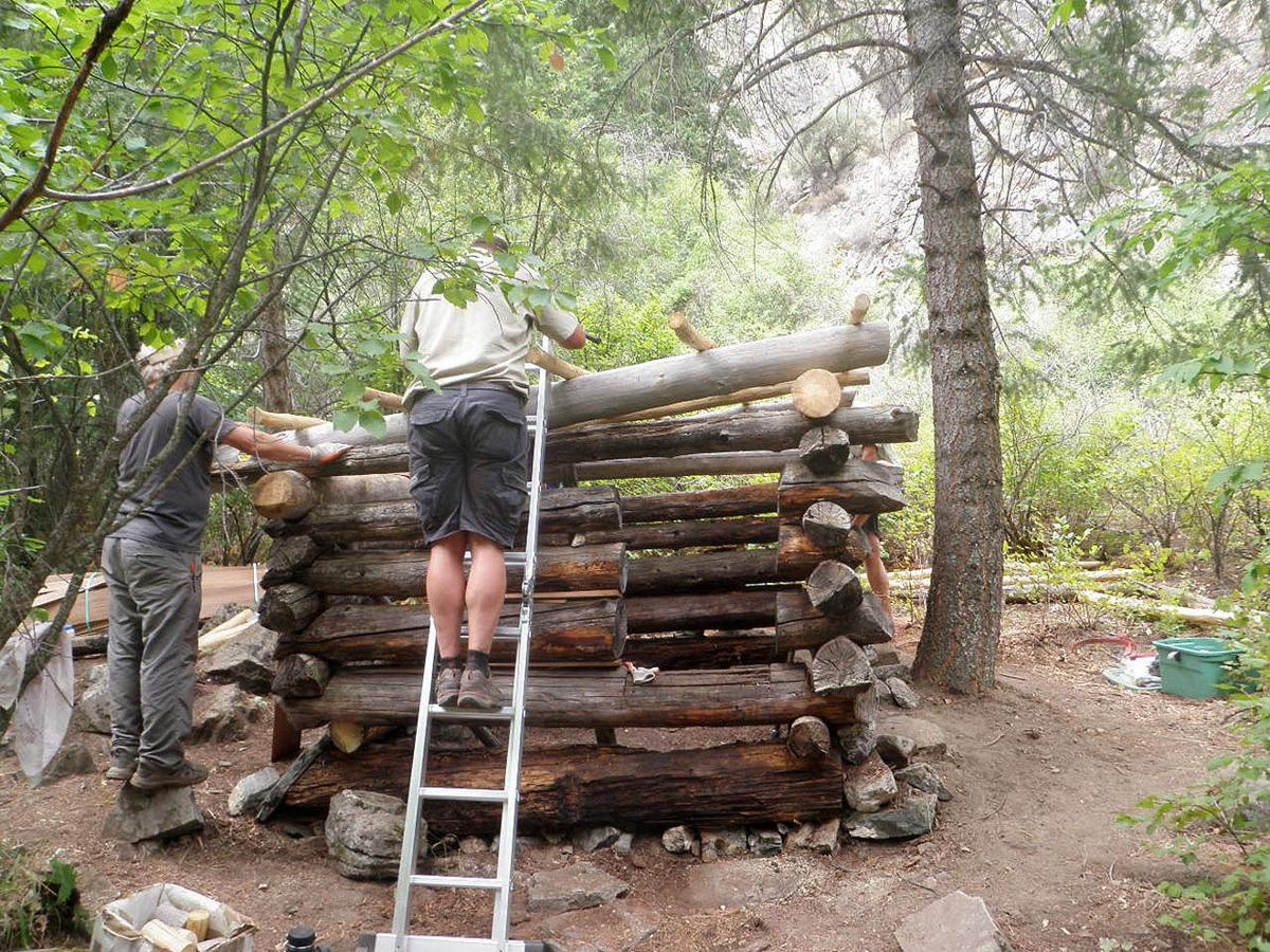 Old Hermit S Cabin On Middle Fork Of Salmon River Restored