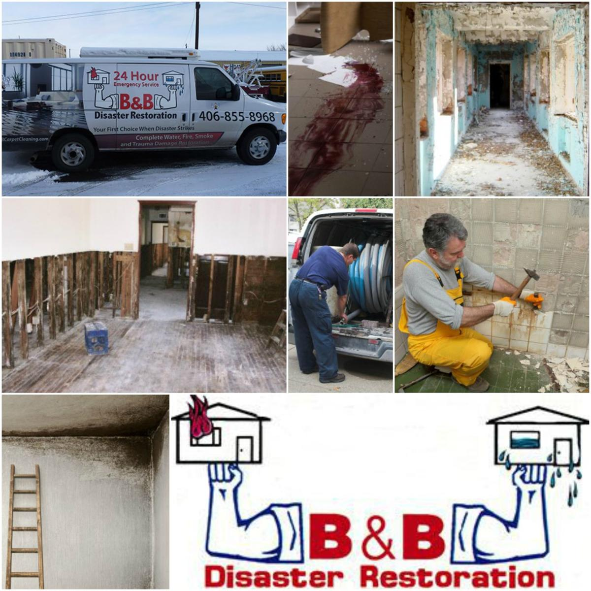 Helena Mt Water Damage Restoration And Water Removal: B & B Disaster Restoration And Carpet Cleaning