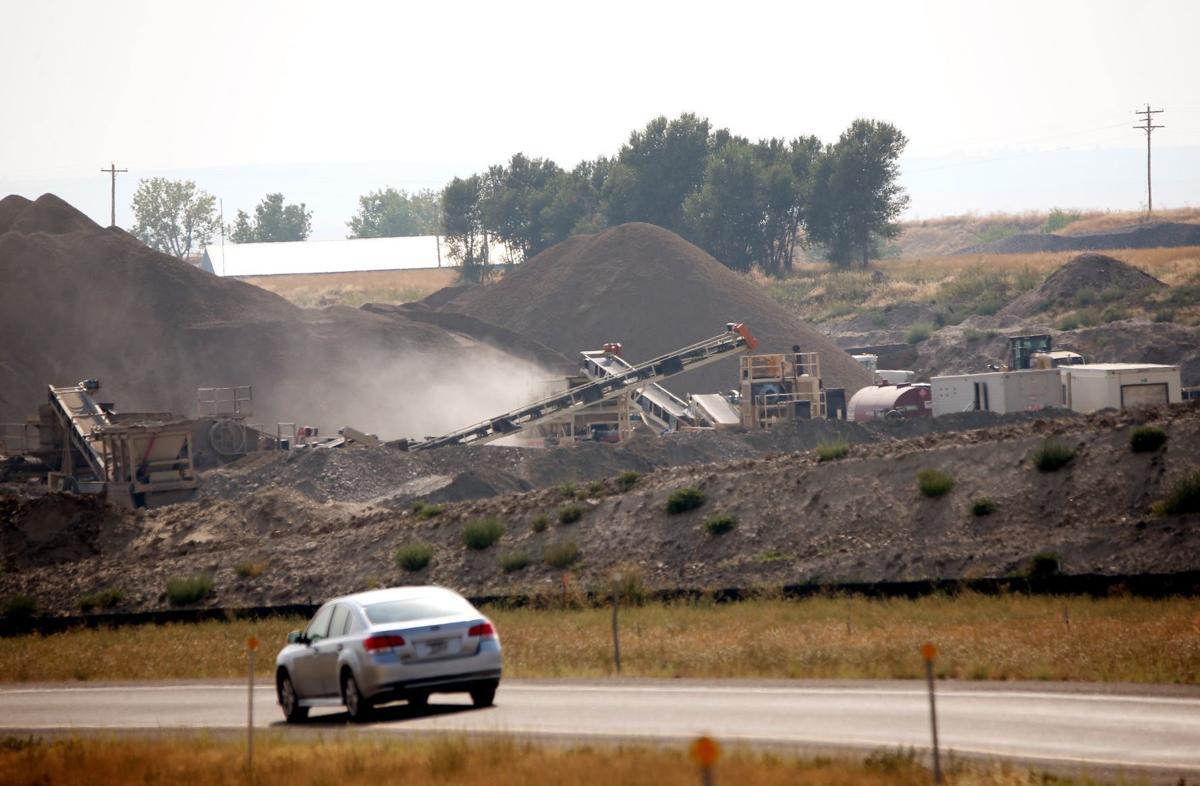 The Nelcon gravel pit
