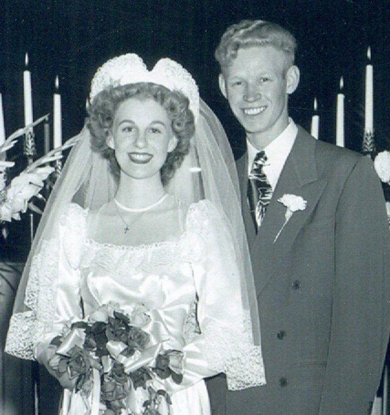 Doris and Vic Redinger in 1948