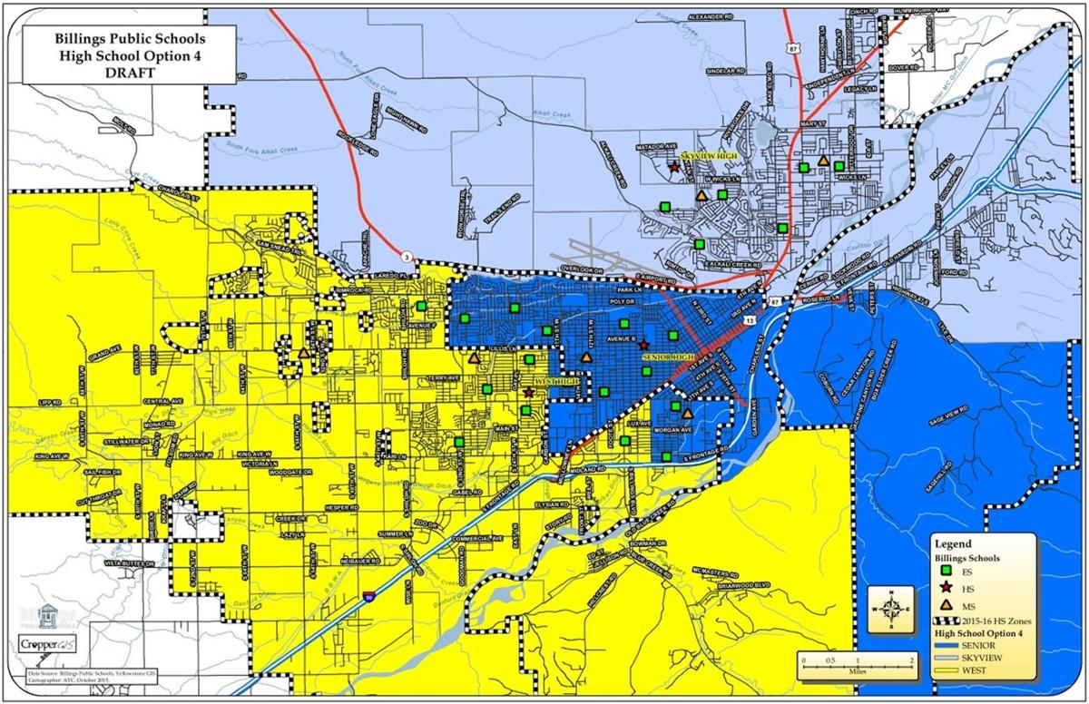 High School Redistricting Team Narrows Options To Four Ahead Of