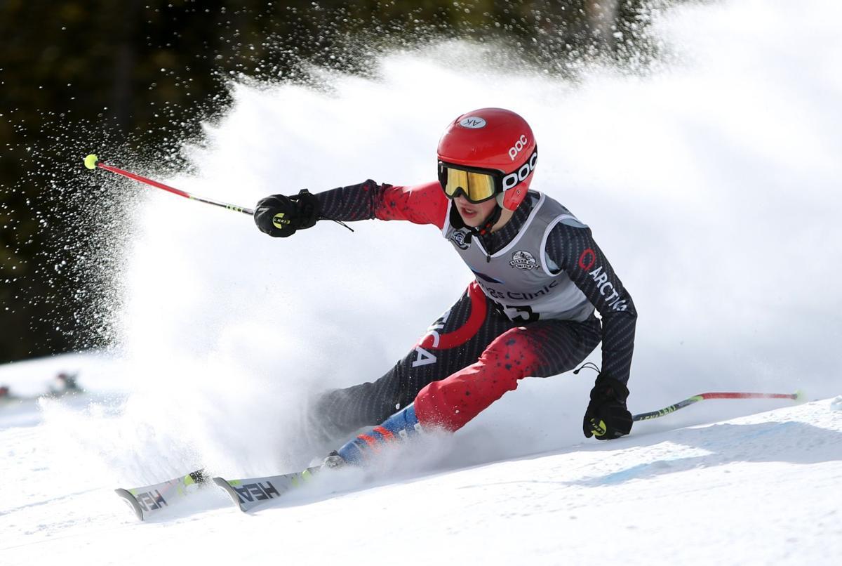 Silver Run Ski Team's Logan Szabo