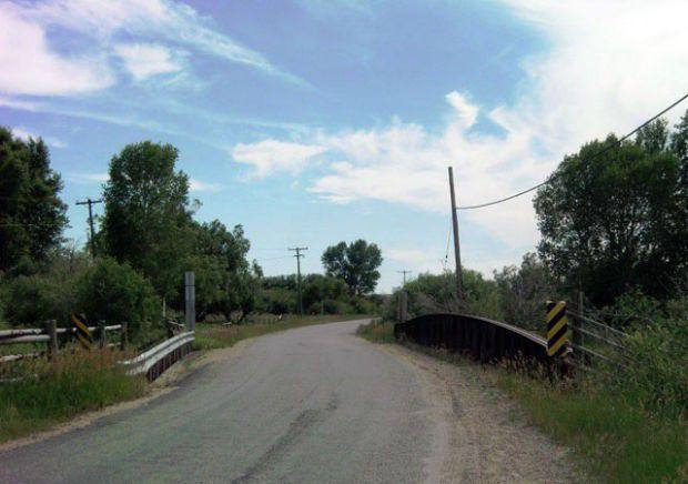 Seyler Lane bridge