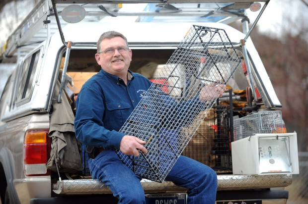 Dave Salys, owner of Big Sky Wildlife Control Services