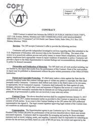 OPI CMS contract | | billingsgazette com