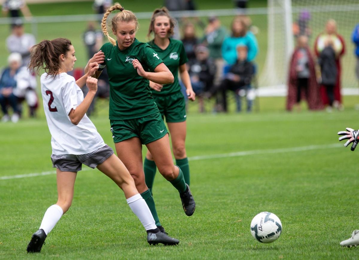 Billings Central girls soccer beats Hamilton