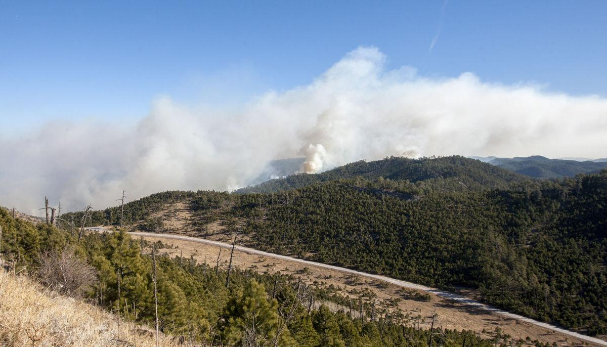 Legion Lake wildfire