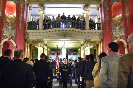 Schweitzer praises Dixon, pillories lobbyists
