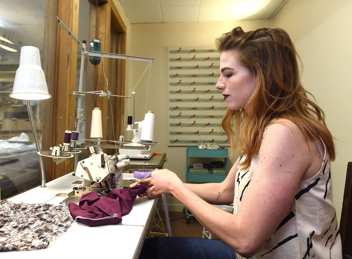 b31c456acc Retired ballerina finds unusual next job — sewing custom leotards in ...