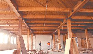 Loft apartments top renovation