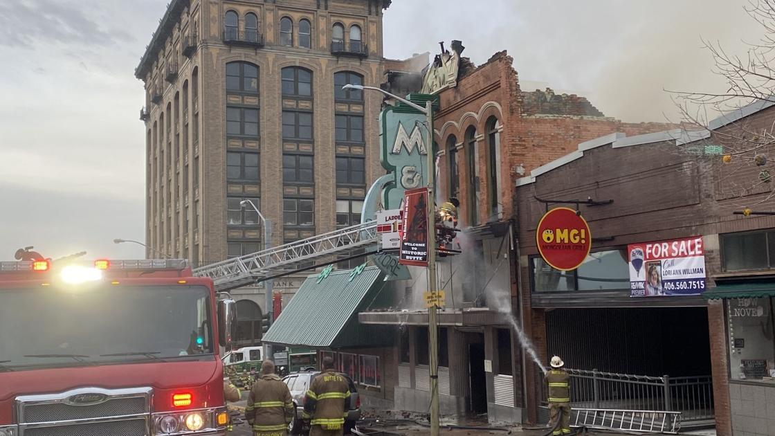 Fire guts iconic M&M bar in Uptown Butte