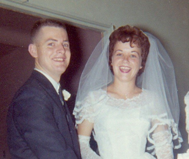 Gary and Sandra Pearsall in 1962