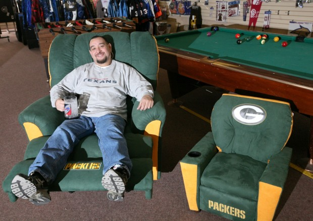 NFL-themed furniture