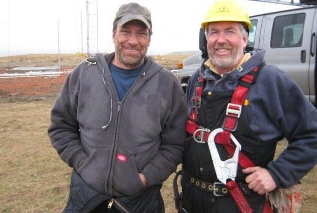 Mike Rowe and Kevin Reski
