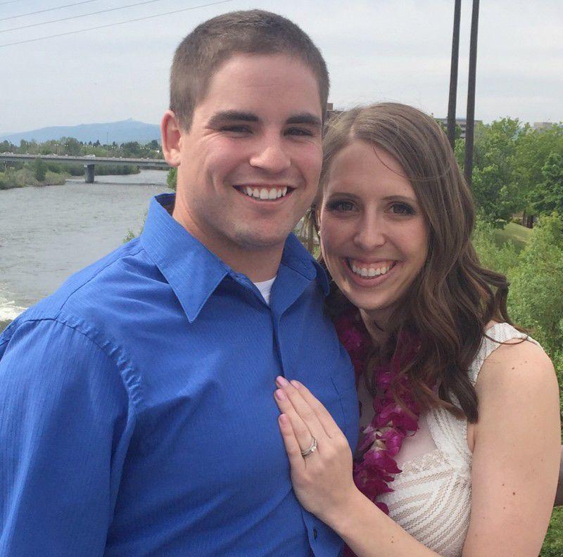 Austin Allen and Nicole Knudson