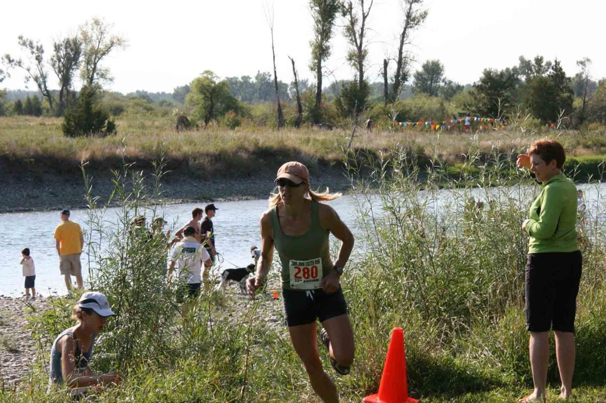 Beth R. Shumate running