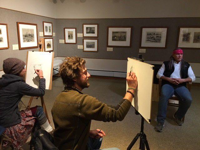 Carbon County Arts Guild & Depot Gallery open studio