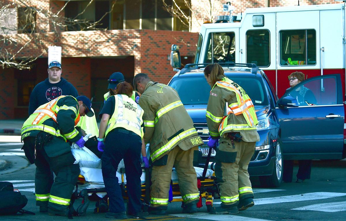 Pedestrian accident 1