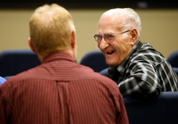 Sebastian Messer talks with Stan Messer