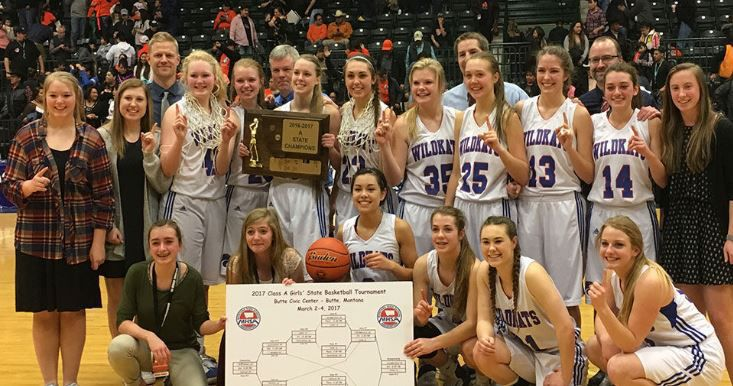 Columbia Falls claims first girls basketball Class A championship since 1983