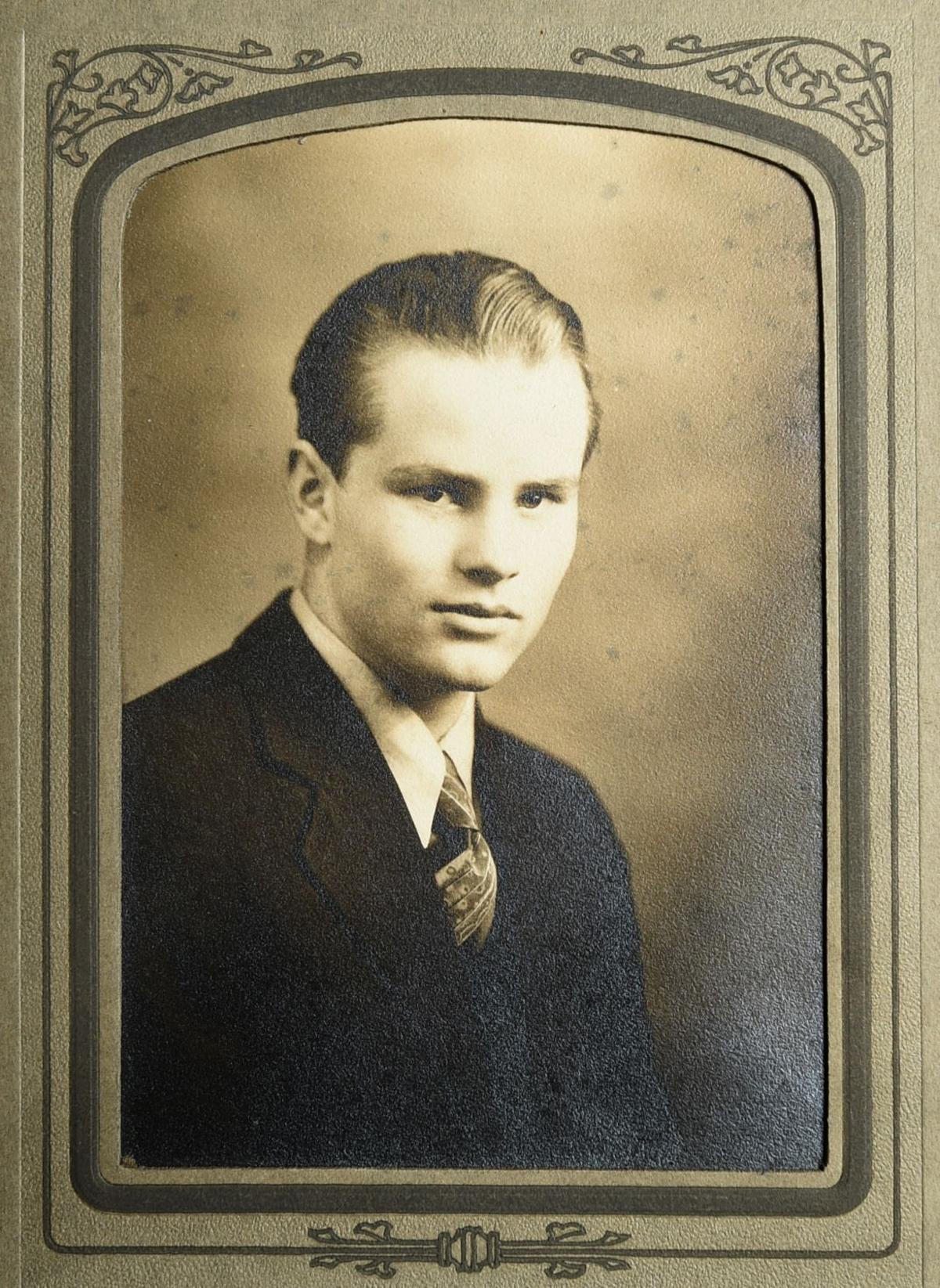 Harold Logan graduation picture