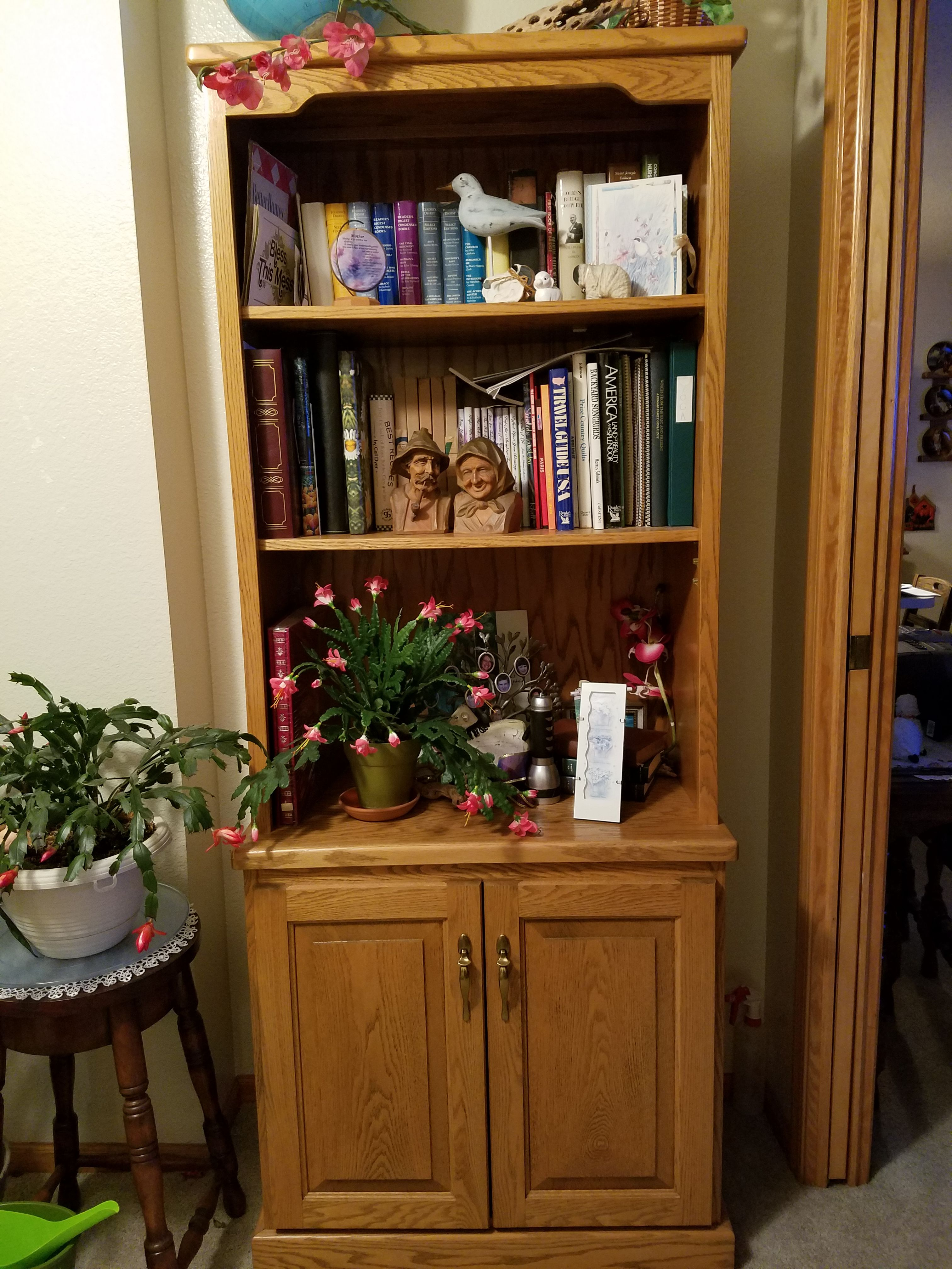 Bookcase - Solid Oak image 1