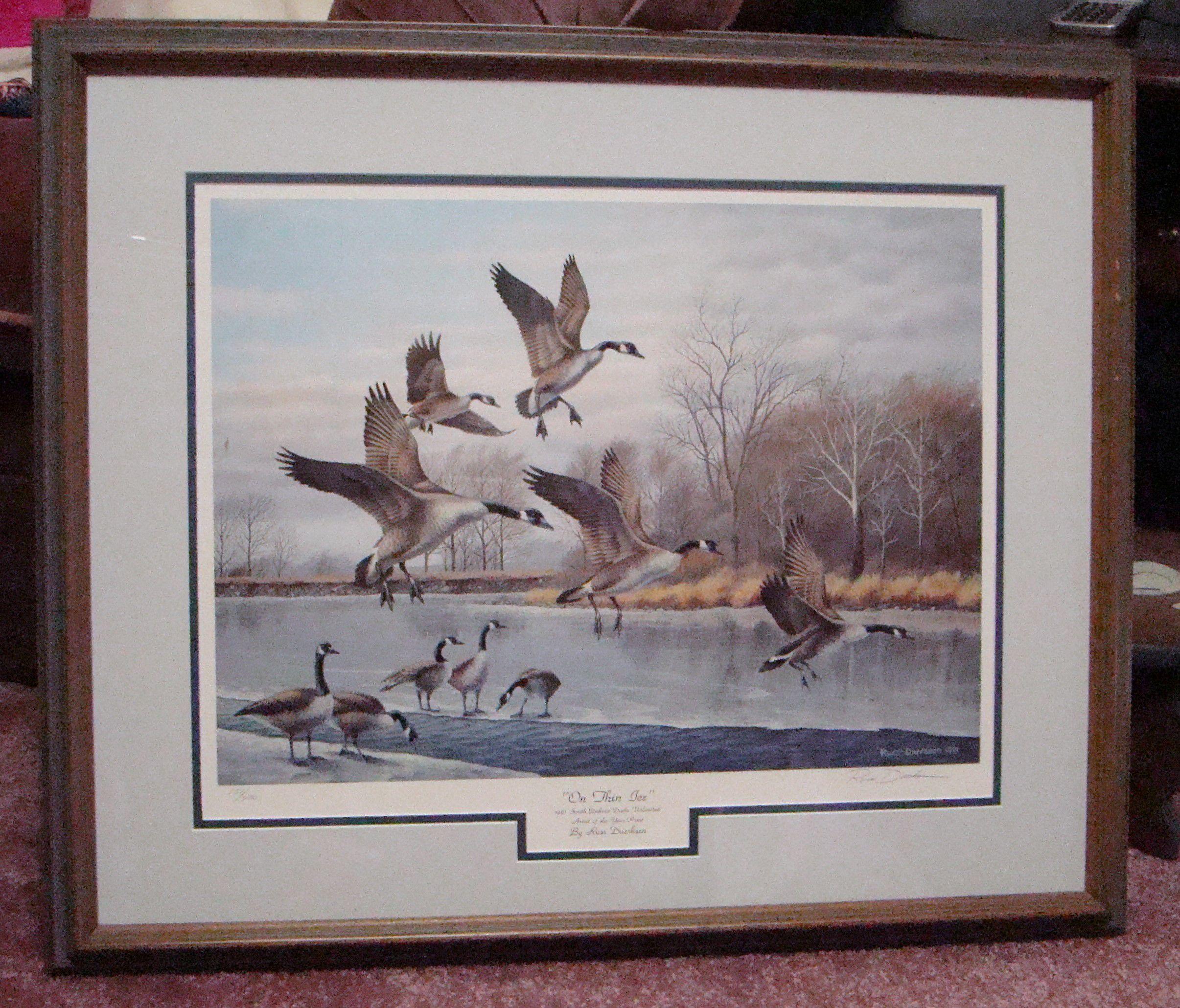 Russ Duerkson Goose Print image 1