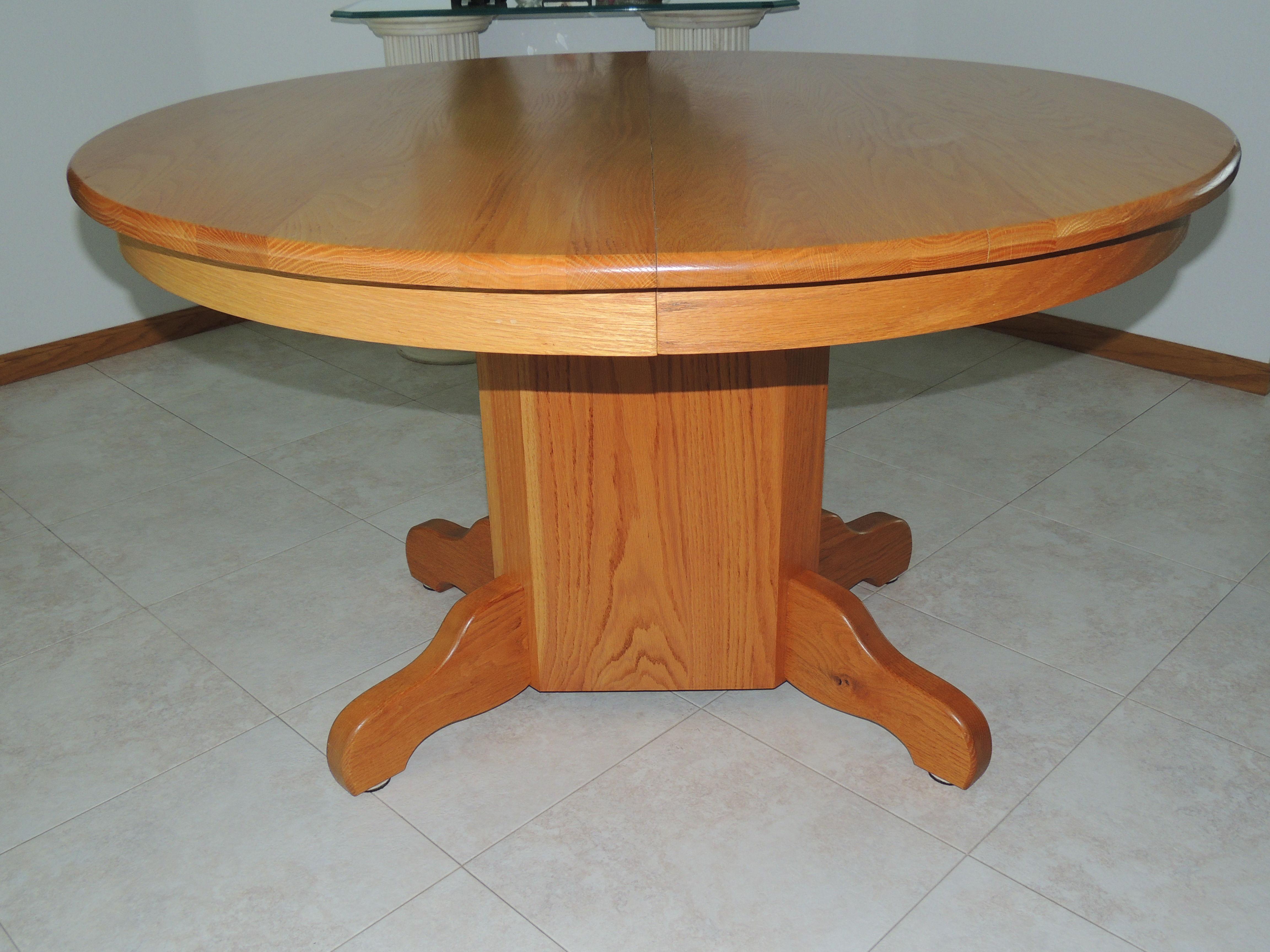 Custom Oak Dining Table image 1