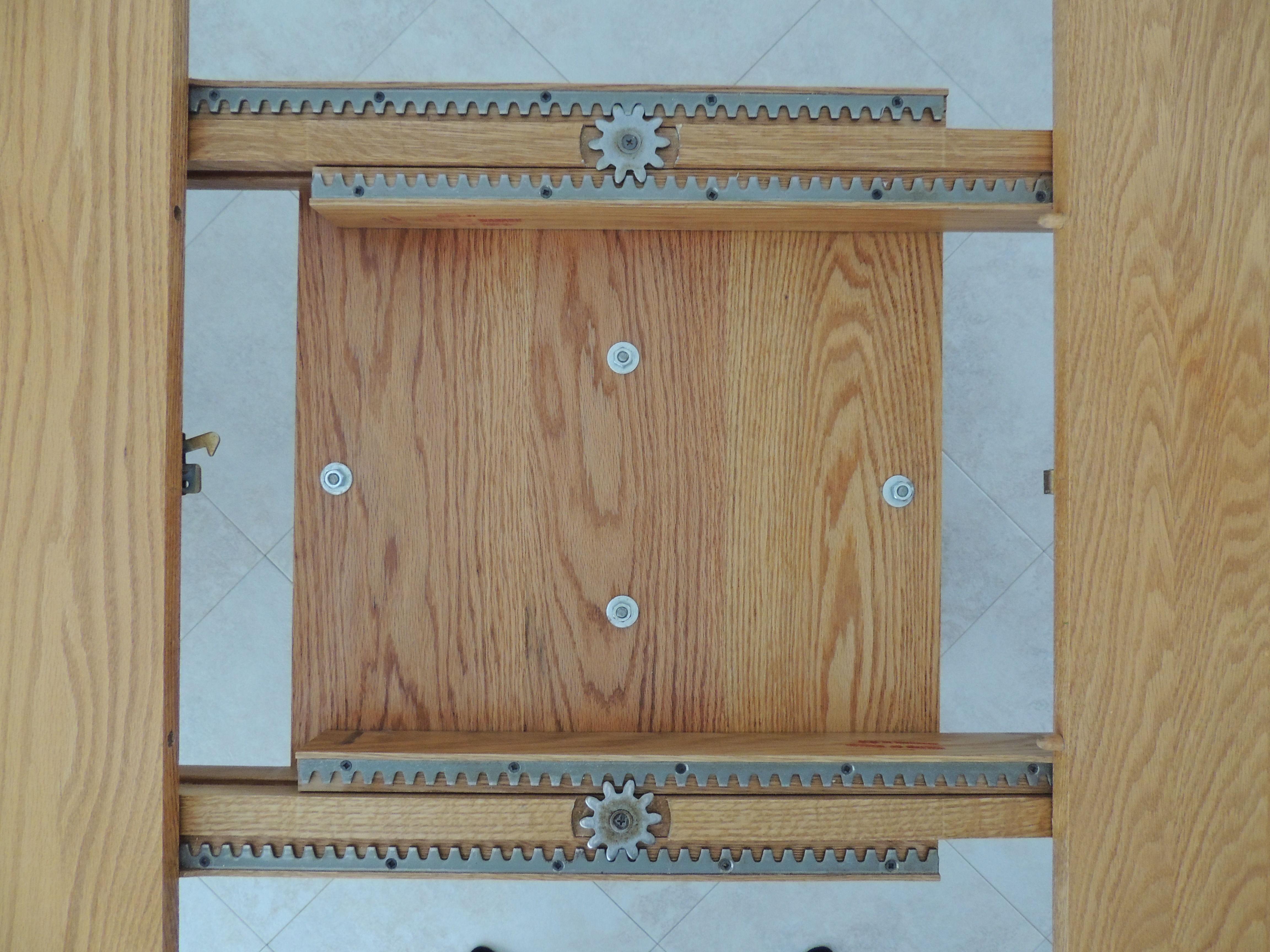 Custom Oak Dining Table image 2