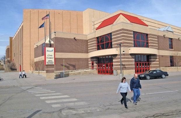 Bismarck Civic Center Main Entrance