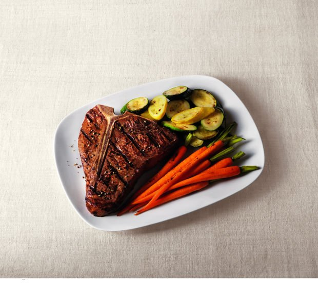 T-Bones with Sweet and Savory Steak Sauce