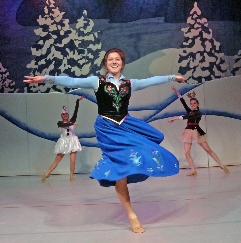 Lets Dance Studios Production Of Frozen Tribune Photo