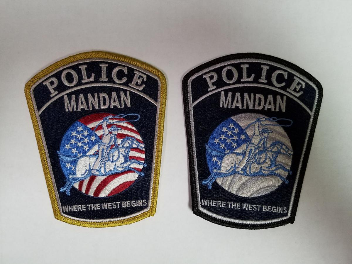 Mandan police patches